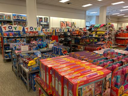 Sporting goods, and hobby & toy stores